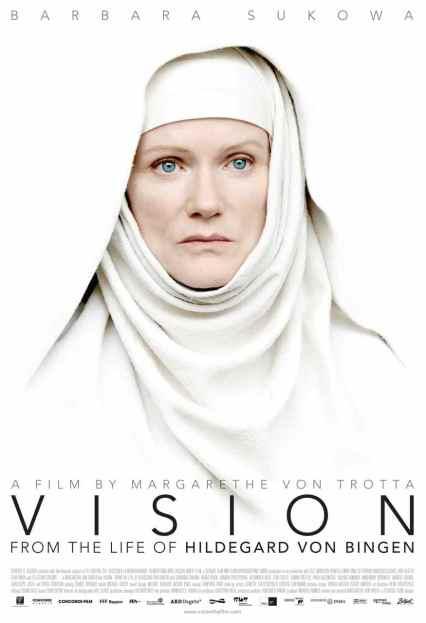 """Locandina del film """"Vision"""" di Margarethe von Trotta (2009)."""